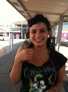 A bird in her hand