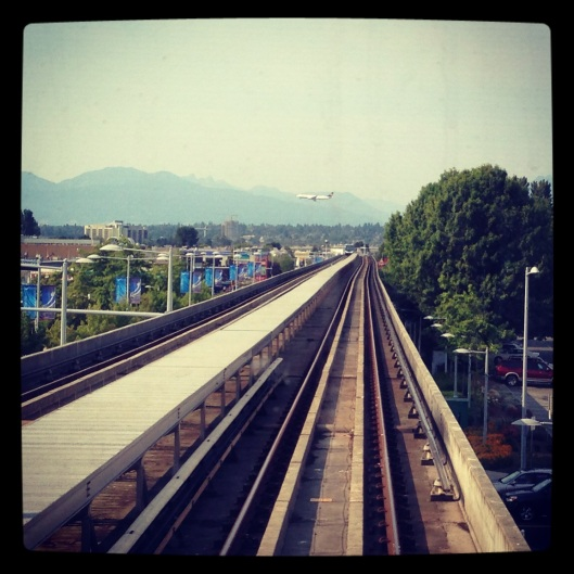 Sky Train to Richmond