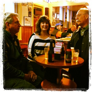 Front bar at Heyward's Pub
