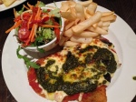 One of the many, and best schnitzels from Waterside Pub, Melbourne