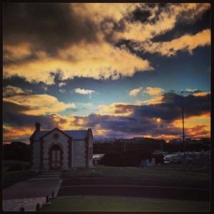Sunset in Robe, SA