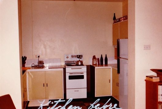 'Before' kitchen, 1983