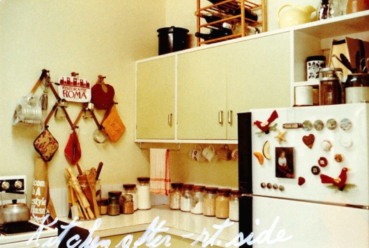 'After' kitchen 1984