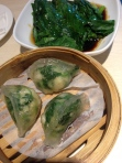 Prawn and vegetable dumplings
