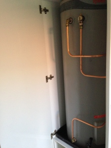 plumbing/hot water heater 'after'