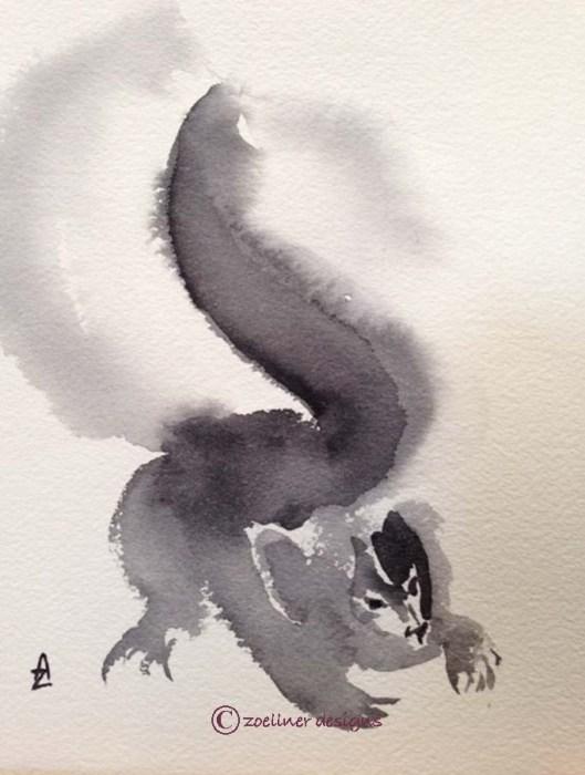 skunk wi nose