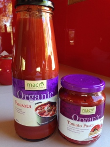 Passata and Paste, is there ever too much red in a kitchen??