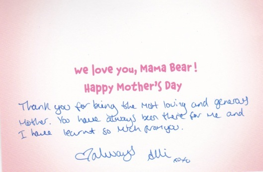 Mama Bear Inside