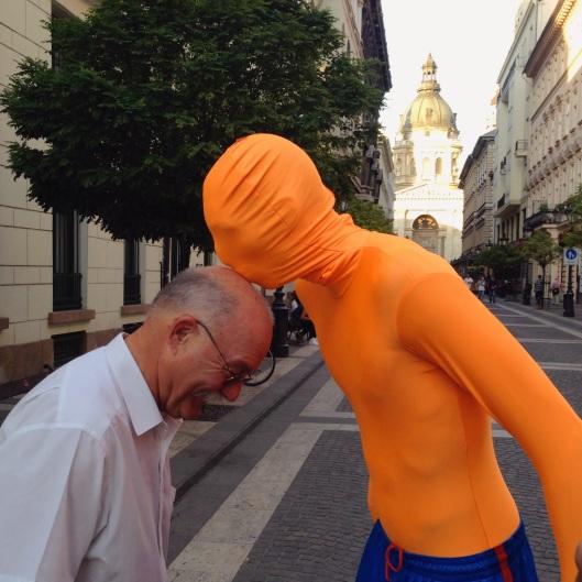 Budapest-orange man