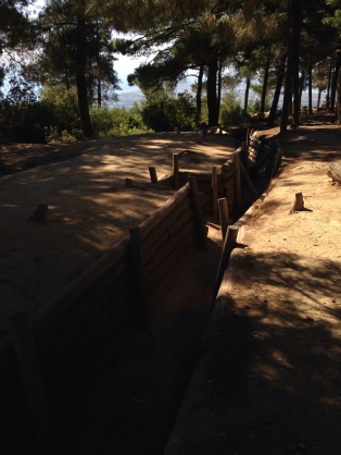 Gallipoli-trenches