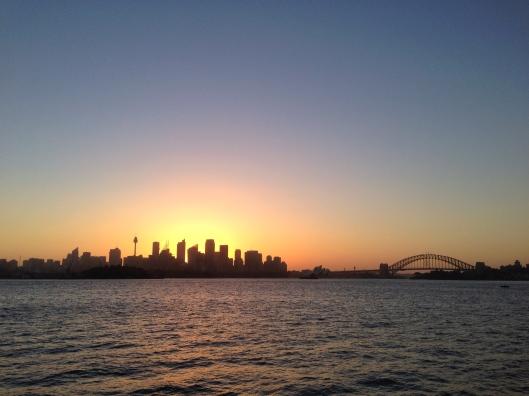 sydney-sunset