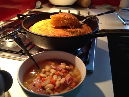 soup-beans-cornbread