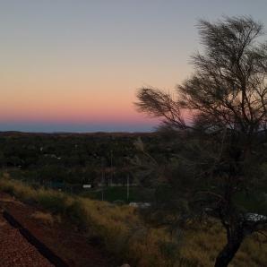 anzac-hill-sunset