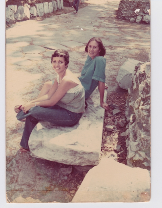 21 year old me with my Aunt, Rome, 1974