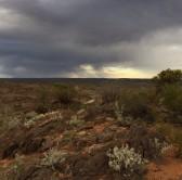 Broken Hill, far in the distance