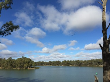 Confluence of Murray and Darling Rivers, Wentworth