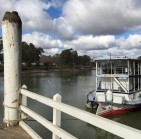 Mildura waterfront on the Murray River