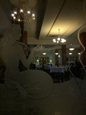 Art Deco dining at the Royal Exchange Hotel, Broken Hill