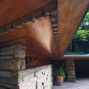 Detail at entrance of Kentuck Nob