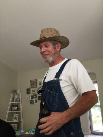 Alter ego Amish farmer