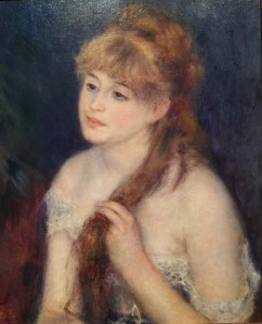 Renoir painting, SAM-Impressionist Exhibition