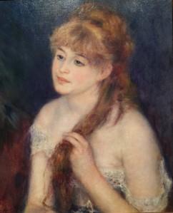Renoir painting, SAM-Impressionist Exhibition