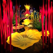 Dale Chihuly glass garden, Seattle