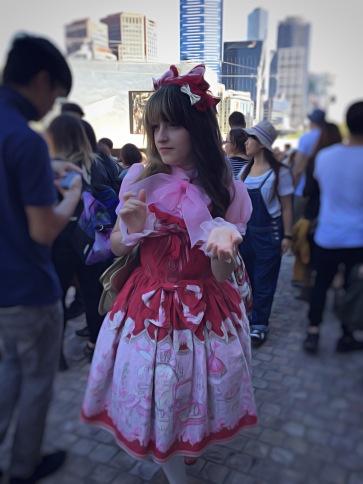 Manga character at Japanese Festival