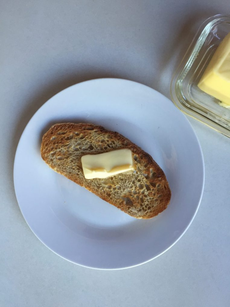 the joy of toast and butter