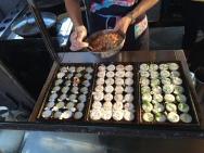 dumpling preparation Parap Market