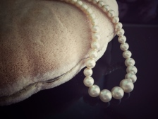 pearls and box from ~1948
