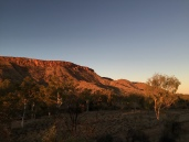 Mt Gillen in early light