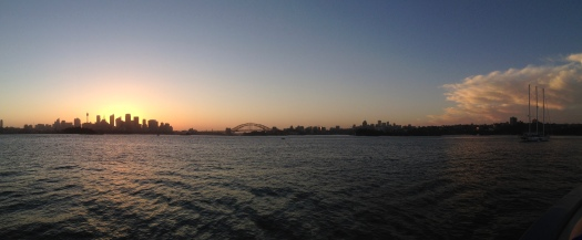 Afterglow Sydney Harbour