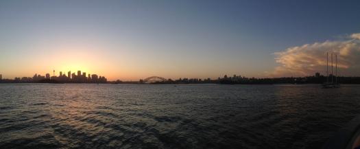 Afterglow Sydney Harbour