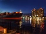 twilight in Savannah, Georgia