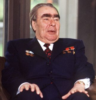 Leonid Brezhnev in the Federal Republic of Germany 1978