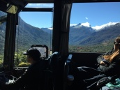 The long and sometimes terrifying bus ride to Milford Sound