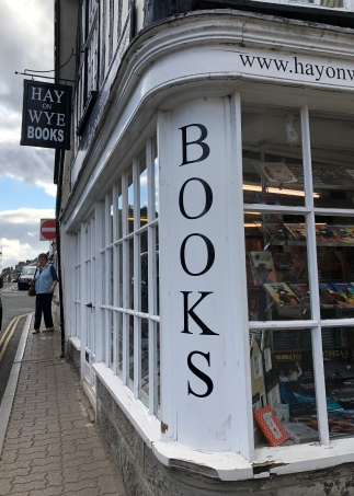 Hay presented a wealth of book stores and all things literary.