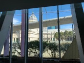 View from Museum Victoria, of Melbourne Exhibition Building