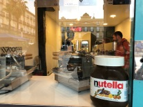 Who doesn't like Nutella? Donostia, Spain
