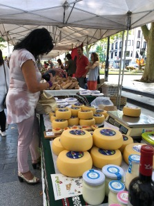 Saturday morning market in Donostia-San Sebastián